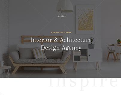 Inspire Interior & Architecture HTML Template