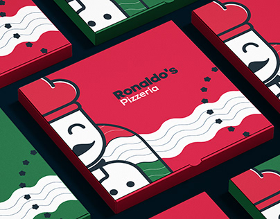 RONALDO'S pizzaria | Branding and Packaging
