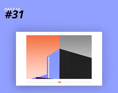 Daily UI #31: Image Slider