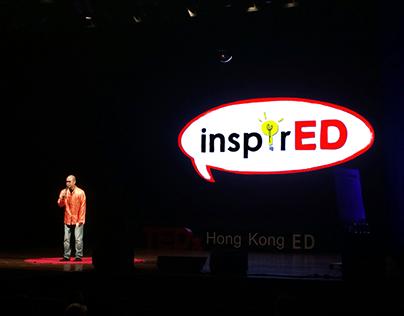 Logo design & illustration for TEDx Hong Kong ED 2014