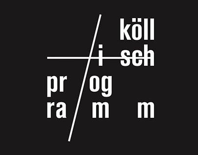 Köllisch Programm