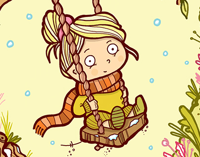 Swing in the Snow
