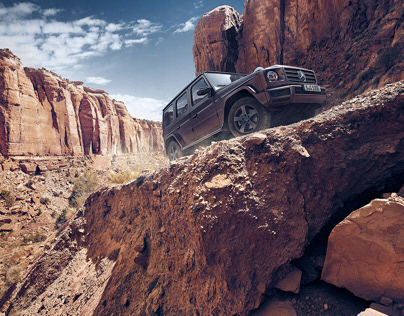 "Mercedes-Benz G-Class ""Amber Rock"" Campaign & Brochure"