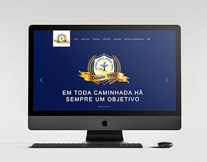 Site para o Colégio Cristão Efigênia Tobias