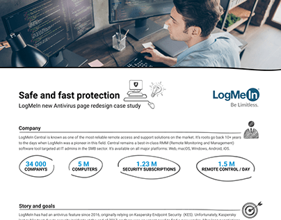 LogMeIn Central Antivirus case study