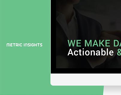 Metric Insights - Web Design