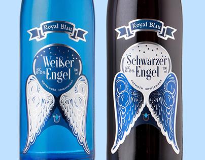 Royal Blau: Weiber Engel / Schwarzer Engel