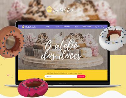 Website/Loja Virtual Mabel Cake