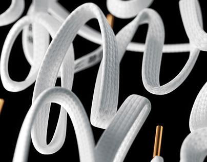 Kiss My Kicks / 3D Typography