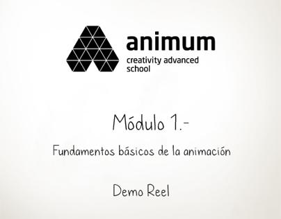 Reel - Módulo - 1 Fundamentos básicos de la animación