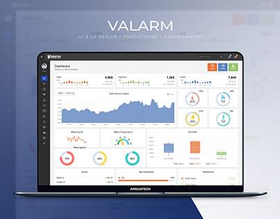 Valarm App - Water Management Solutions