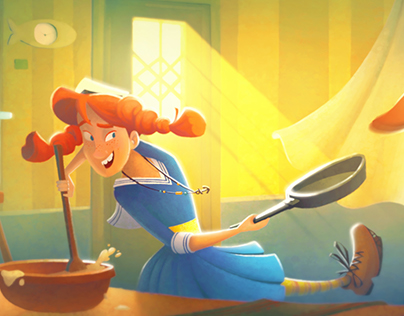 Pippi Longstocking - Visual Development project