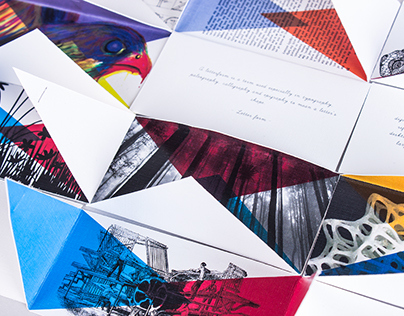 Graphic design Definition cards