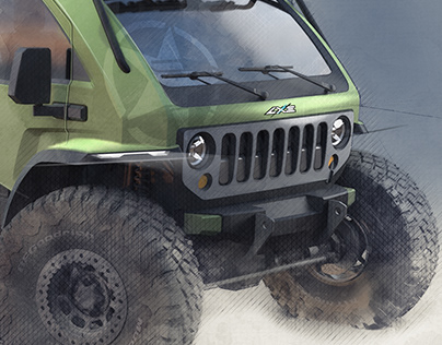 Jeep ultimate Mopar SEMA concept