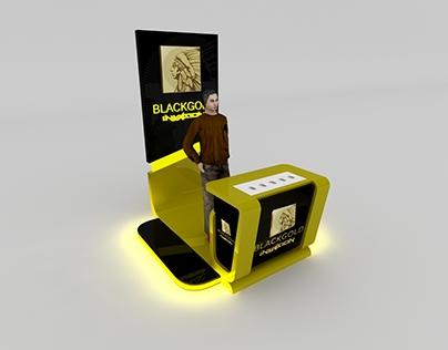 Apache Blackgold Mini Booth