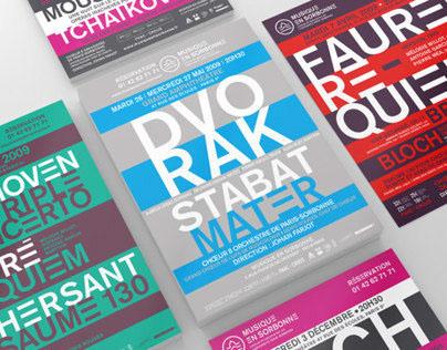 Musique en Sorbonne - Brand identity