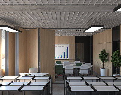 Student class from BR Interiors studio: a place for ple