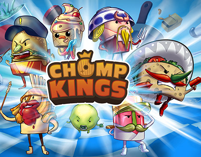 CHUMP KINGS ART