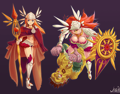 Freyja Character Design