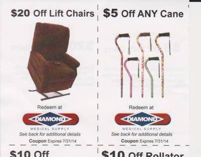 Coupons for Medical Supply