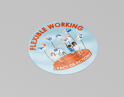 Sticker Design   GMB London   Flexible Working
