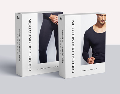 FRENCH CONNECTION - Clothing Packaging Design