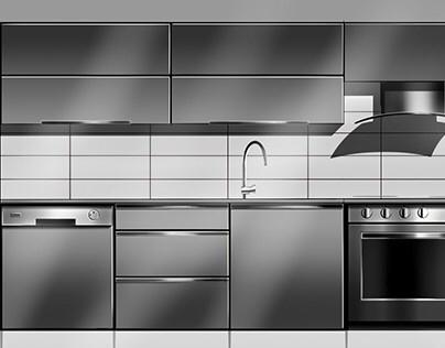 Quick Kitchen Sketch