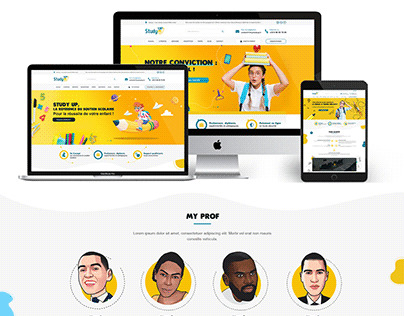 Study Up - Facebook+ website + Rollup + Flyer + Web App