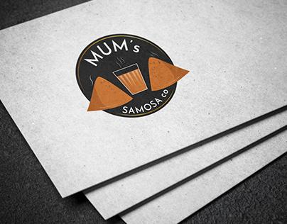 Mum's Samosa Logo