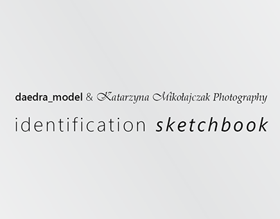 LOGO DESIGN :: Indentification Sketchbook (2019)