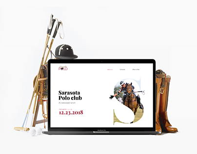 Sarasota Polo Club. Website redesign.