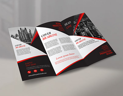 Tri Fold Brochure Design | In Photoshop cc