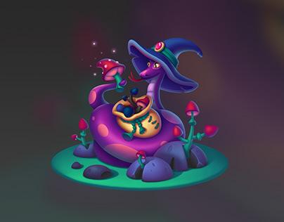Magic snake