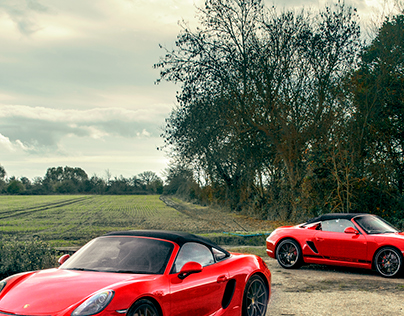 Porsche Spyders