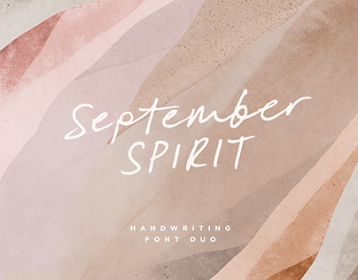 September Spirit Font Duo