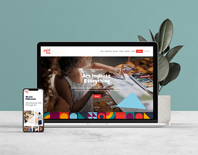 Paint Love Website Design