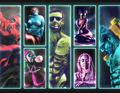 Neon Grunge