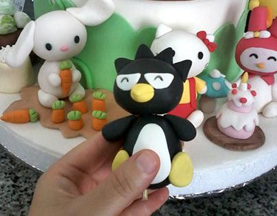 sanrio cake