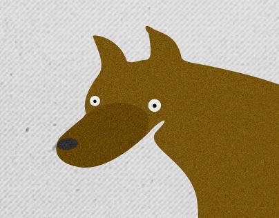 Illustartion for book about dog ;)