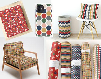 A Collection of co-ordinating patterns