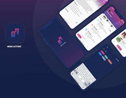 Newsletters - Mobile app