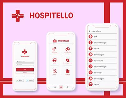 Hospital Management System Application Design