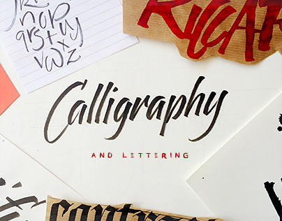 ::: ✌ Calligraphy and Lettering ✍ Sketches :::