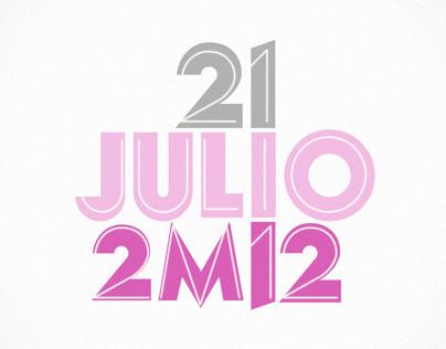 21 JULIO 2M12
