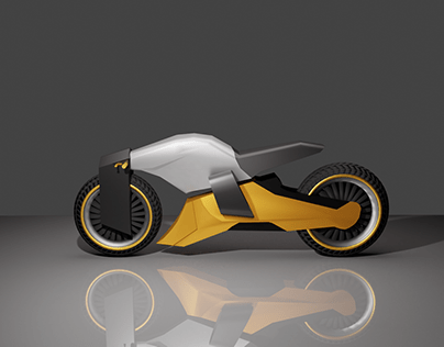 3D Motorcycle Modeling