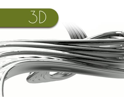 Metalic SpaGhetti (Animation, Blender / Cycles)