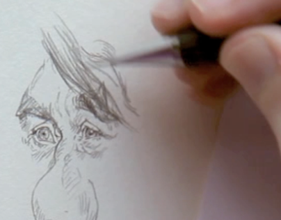 Caricature drawing films