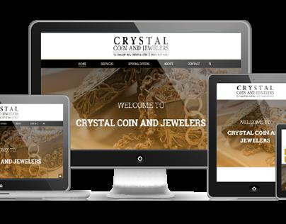 Crystal Coin & Jewelers | Website Design