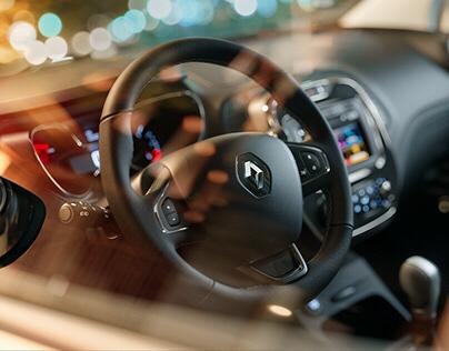 Renault Captur Night shot