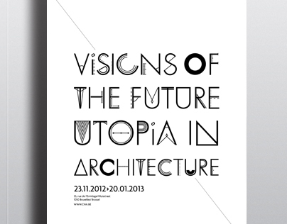 Exhibition poster / Architecture